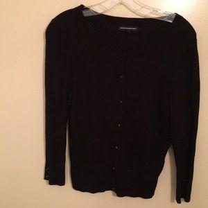 Black 3/4 length sleeve Express Cardigan